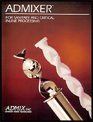 For Sanitary Static Mixing & Blending - Admixer™