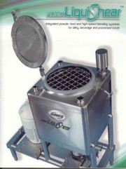 The Unconventional Liquids / Solids processor - LiquiShear