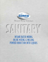 Sanitary Mixing Equipment Brochure