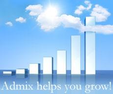 Admix Helps You Grow!