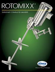 Sanitary Stainless Mixer - Rotomixx