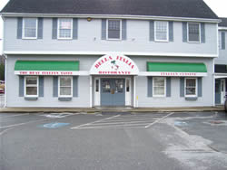 Front of Massachusetts restaurant
