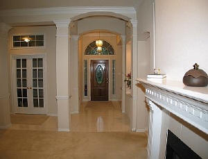 Square smooth columns providers of diy columns see us for Decorative square columns