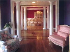 Diy house columns