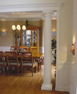 Many Standard Design Wood Columns Are Available That Can Be Used For Corner  Accents, And Many More. The Colonial Wood Column Comes With A One Year  Warranty ...