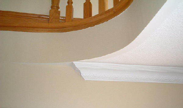 Ribbon Amp Leaf 9 Quot Cornice Crown Molding Providers Of Diy