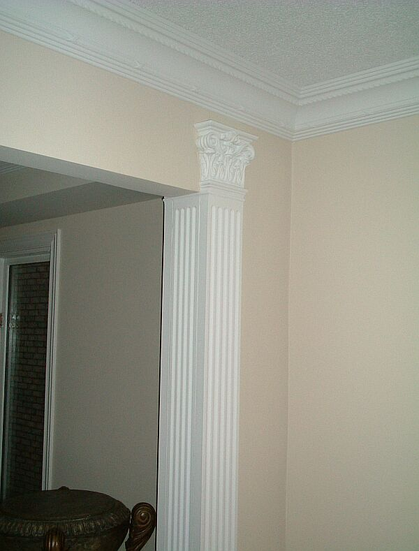 Ribbon Amp Reed W Rope 7 Quot Cornice Crown Molding
