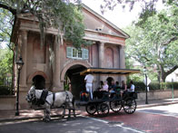 Carriage rides near Kiawah Island