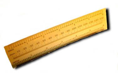 6 Plastic Ruler