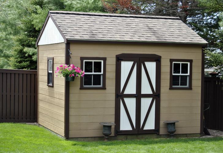 Outdoor Wood Sheds · Prefab Storage ...