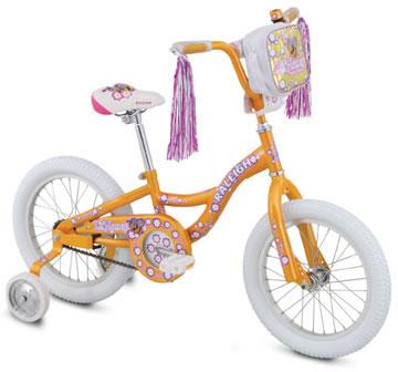 Raleigh Kids Lil Honey 16 Junior Recreation Kids Bikes From