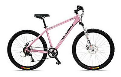 The Bear naked cannondale mountain bike girls!!!