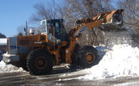commercial lot snow removal
