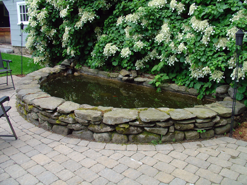 Stone Walls by Tompkins Landscaping and Irrigation
