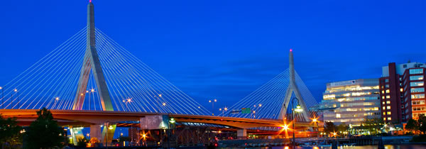 Zakim Bridge in Boston, MA